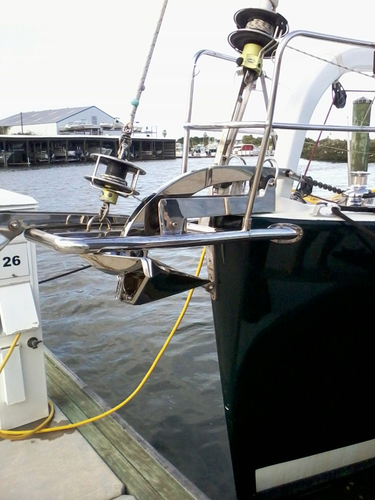 Stainless steel boat anchor l